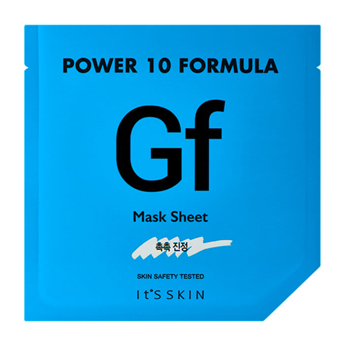 Купить Тканевая маска It's Skin Power 10 Formula Gf Mask Sheet, Увлажняющая высококонцентрированная листовая маска для лица, Южная Корея