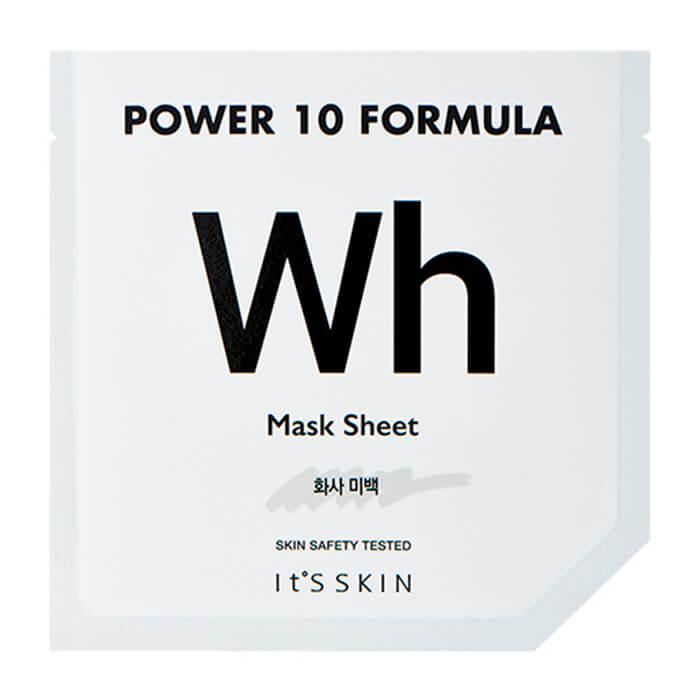 Купить Тканевая маска It's Skin Power 10 Formula Wh Mask Sheet, Осветляющая высококонцентрированная листовая маска для лица, Южная Корея