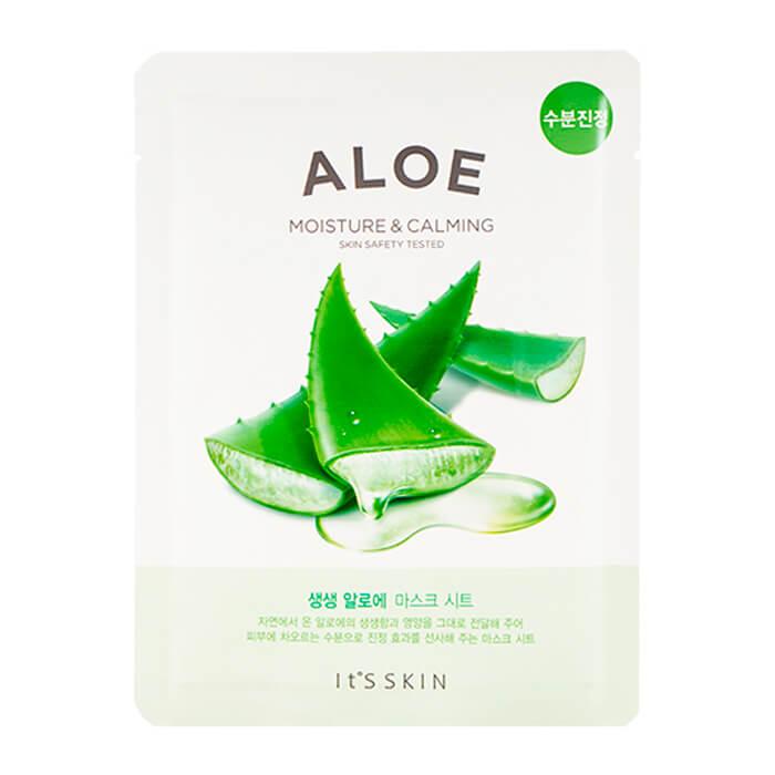 Купить Тканевая маска It's Skin The Fresh Aloe Mask Sheet, Увлажняющая тканевая маска для лица с экстрактом алоэ вера, Южная Корея