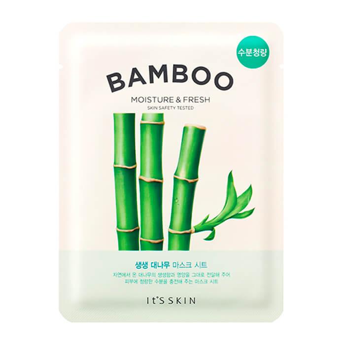 Купить Тканевая маска It's Skin The Fresh Bamboo Mask Sheet, Освежающая тканевая маска для лица с экстрактом бамбука, Южная Корея