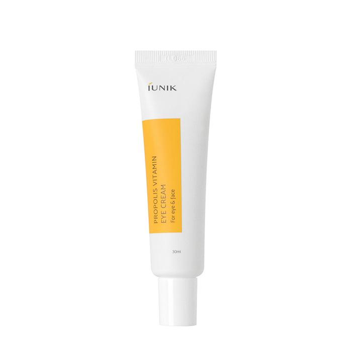 Купить Крем для век iUNIK Propolis Vitamin Eye Cream, Витаминный крем для кожи лица и области вокруг глаз с прополисом, Южная Корея