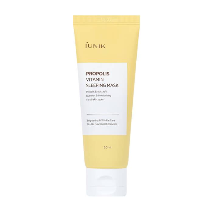 Купить Ночная маска iUNIK Propolis Vitamin Sleeping Mask, Ночная витаминная маска для кожи лица с прополисом и облепихой, Южная Корея