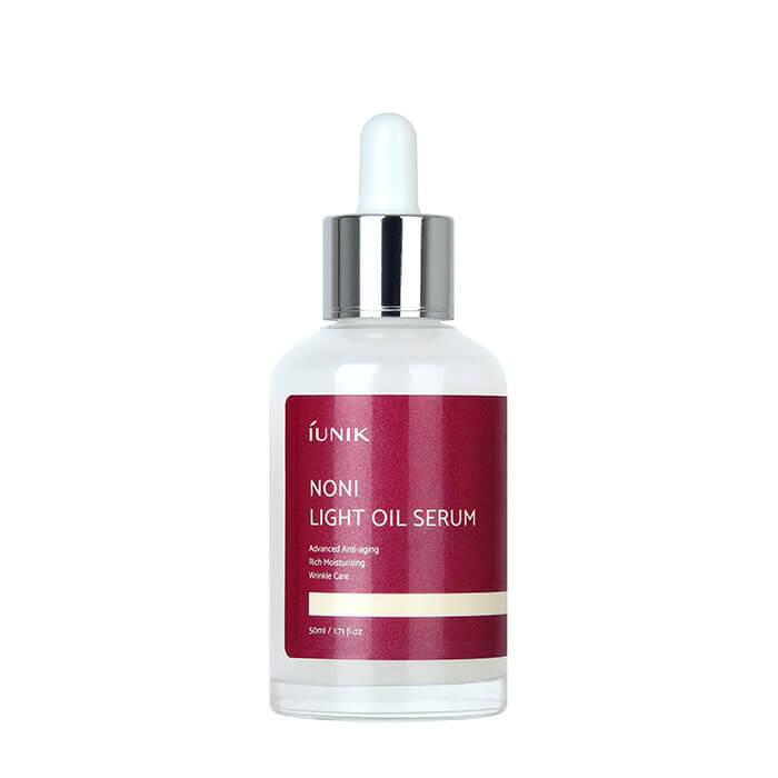 Сыворотка для лица iUNIK Noni Light Oil Serum Омолаживающая сыворотка для кожи лица с экстрактом моринды и комплексом масел фото