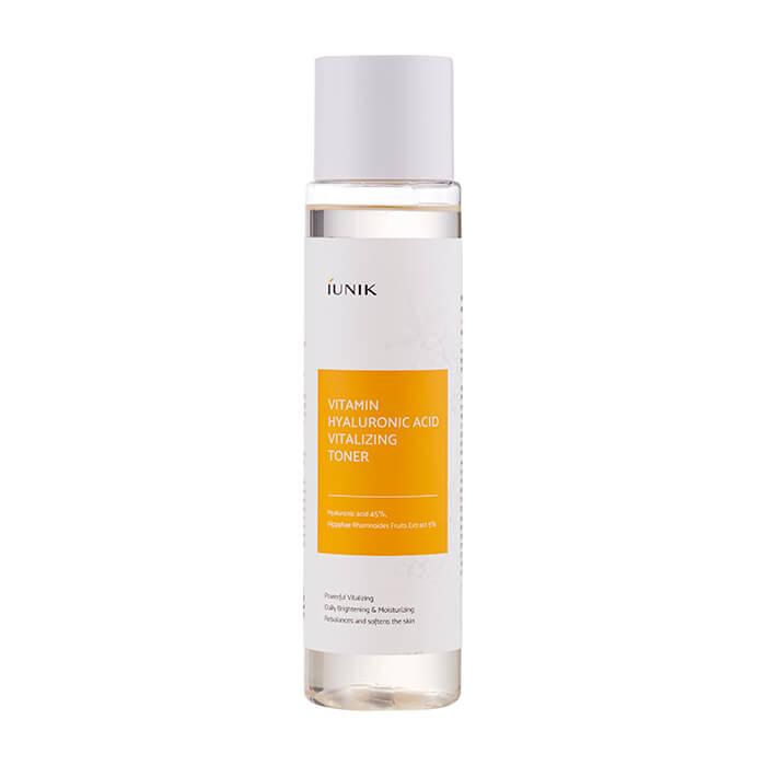Купить Тонер для лица iUNIK Vitamin Hyaluronic Acid Vitalizing Toner, Витаминный оживляющий тонер для кожи лица с гиалуроновой кислотой, Южная Корея
