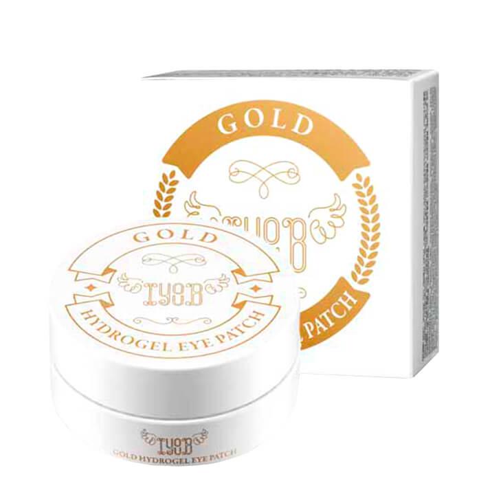 Купить Патчи для век IYOUB Gold Hydrogel Eye Patch, Патчи для кожи вокруг глаз с 24-каратным коллоидным золотом, Южная Корея