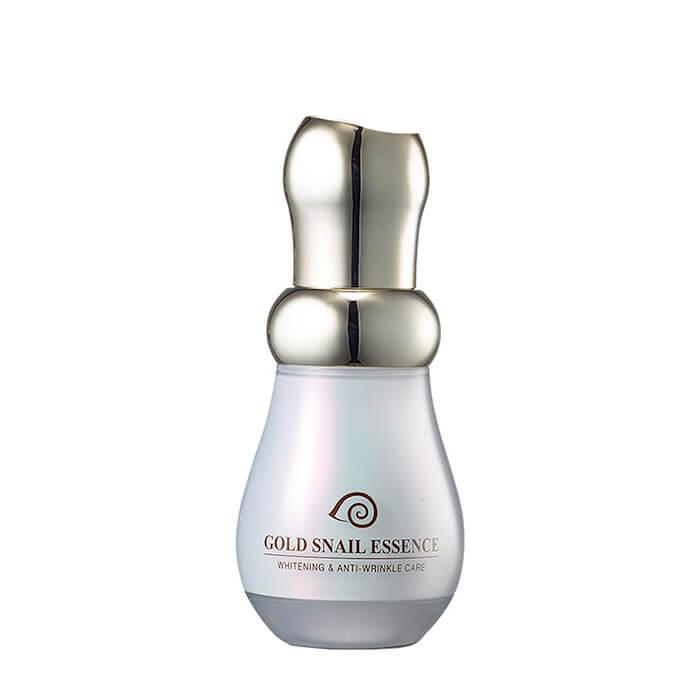 Купить Эссенция для лица J&G Gold Snail Essence, Омолаживающая эссенция для лица с коллоидным золотом и фильтратом улиточной слизи, J&G Cosmetics, Южная Корея