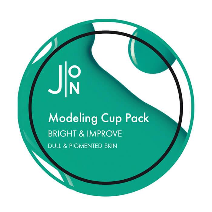 Купить Альгинатная маска J:ON Bright & Improve Modeling Pack, Альгинатная маска для осветления и улучшения кожи лица, Южная Корея