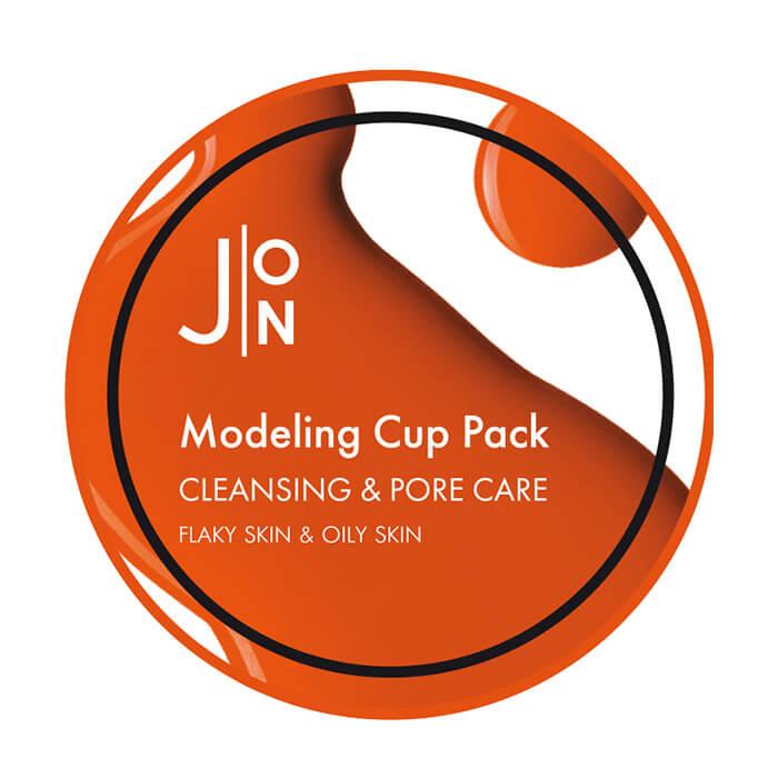 Купить Альгинатная маска J:ON Cleansing & Pore Care Modeling Pack, Альгинатная маска для очищения и сужения пор на лице, Южная Корея