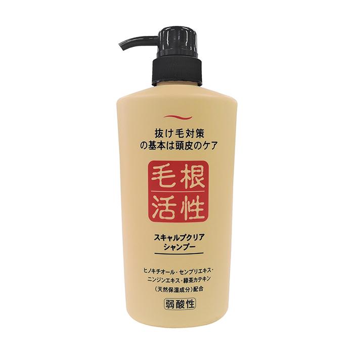 Купить Шампунь для волос Junlove Scalp Clear Shampoo, Шампунь для глубокого очищения кожи головы и стимуляции роста волос, Япония