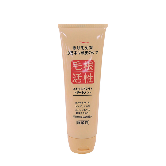 Купить Маска для волос Junlove Scalp Clear Treatment, Маска для улучшения кровообращения в коже головы и укрепления волос, Япония