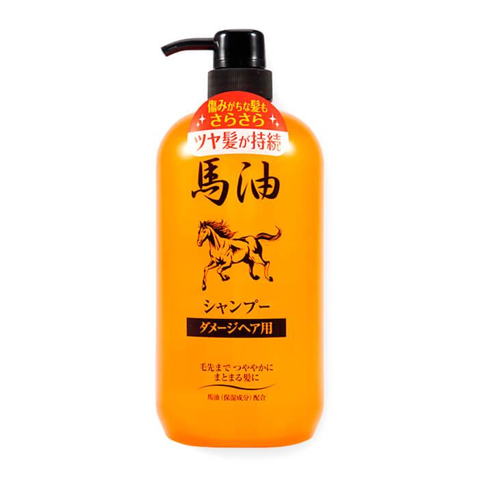 Купить Шампунь для волос Junlove Horse Oil Shampoo, Шампунь для волос на основе лошадиного жира, Япония