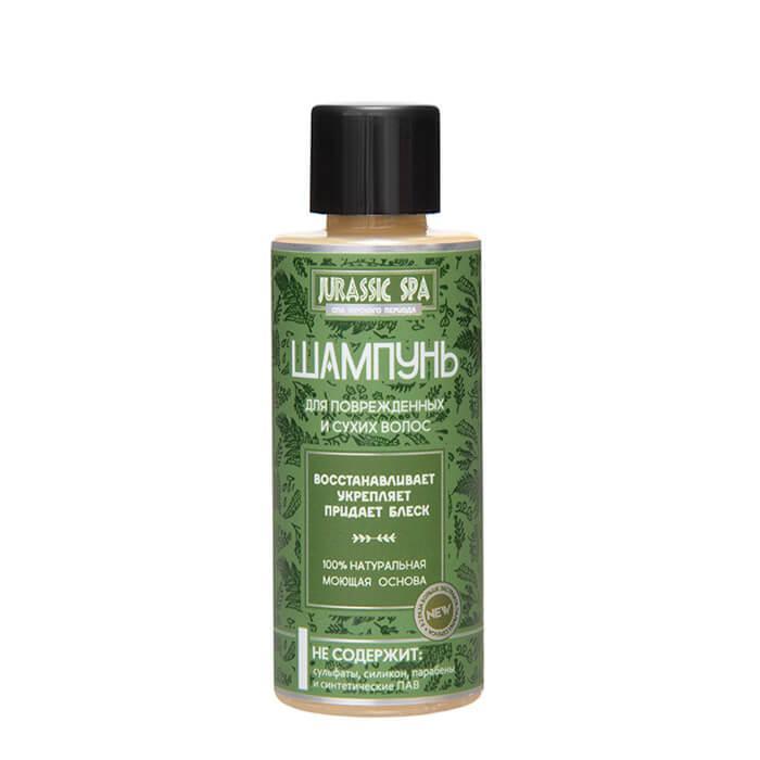 Купить Шампунь для волос Jurassic Spa - Сухие и повреждённые (50 мл), Натуральный шампунь для сухих и повреждённых волос, Россия