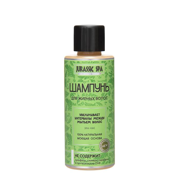 Купить Шампунь для волос Jurassic Spa - Жирные (50 мл), Натуральный шампунь для очищения жирных волос, Россия
