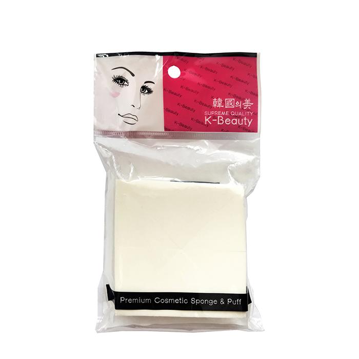 Купить Спонжи косметические K-Beauty NR-9 Квадрат (8 сегментов), Спонжи-сегменты косметические в форме квадрата в индивидуальной упаковке, Южная Корея