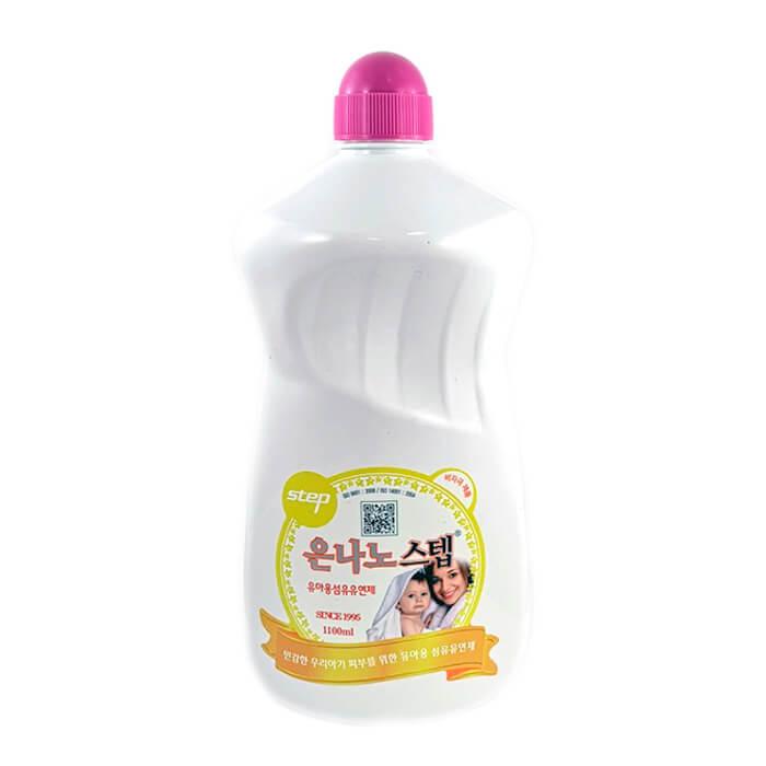 Купить Кондиционер для белья KMPC Baby Step Fabric Softener, Кондиционер для полоскания детской одежды после стирки, Южная Корея