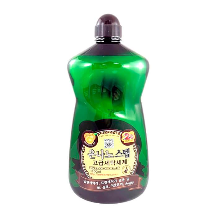 Купить Средство для стирки KMPC Nano Silver Step Detergent, Концентрированное жидкое средство для стирки c наносеребром, Южная Корея