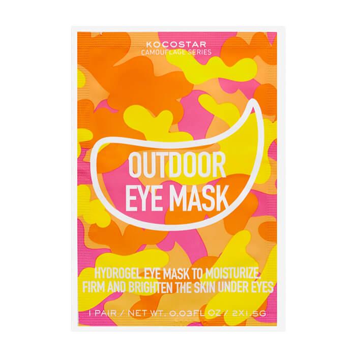 Гидрогелевые патчи Kocostar Camouflage Hydrogel Eye Mask Гидрогелевые патчи для кожи вокруг глаз на тканевой основе фото