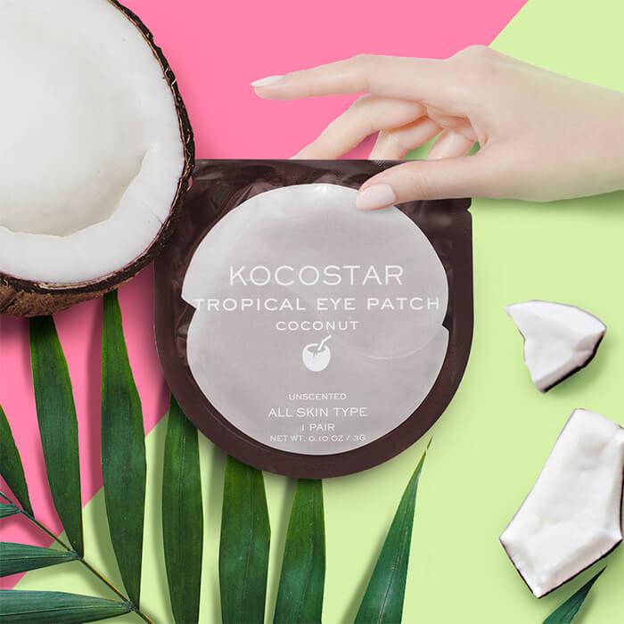 Гидрогелевые патчи Kocostar Tropical Eye Patch Coconut (1 пара)