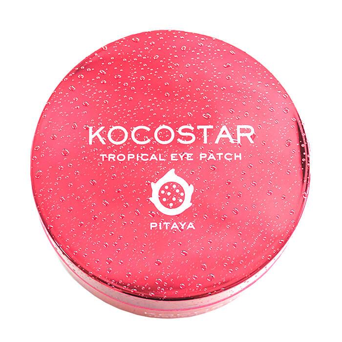 Купить Гидрогелевые патчи Kocostar Tropical Eye Patch Pitaya, Гидрогелевые патчи для кожи вокруг глаз с экстрактом питайи, Южная Корея