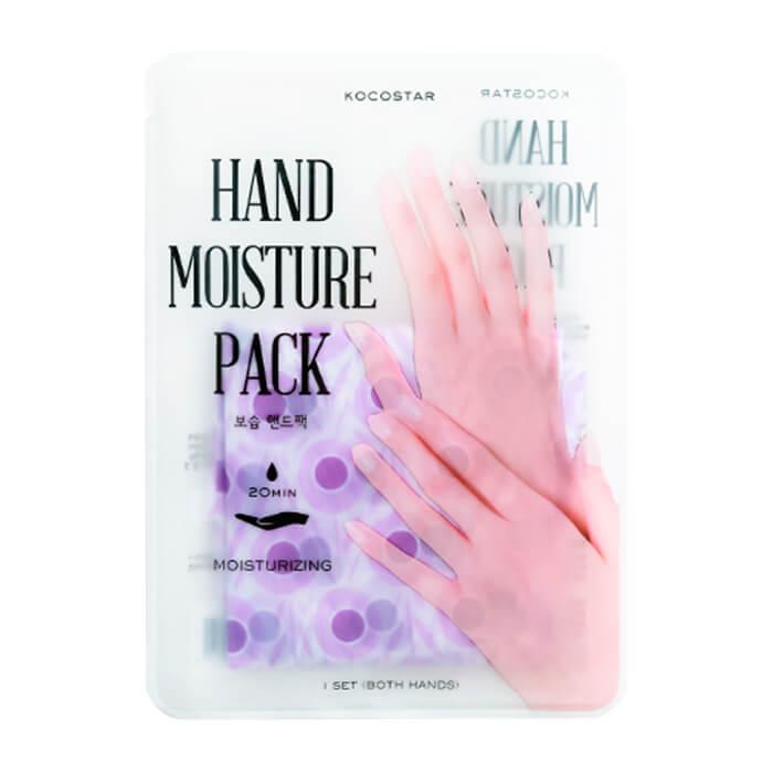 Купить Маска для рук Kocostar Hand Moisture Pack Purple, Увлажняющая маска для восстановления и активного питания кожи рук, Южная Корея