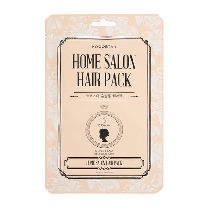 Купить Маска для волос Kocostar Home Salon Hair Pack, Интенсивная маска для восстановления волос с аргановым маслом, Южная Корея
