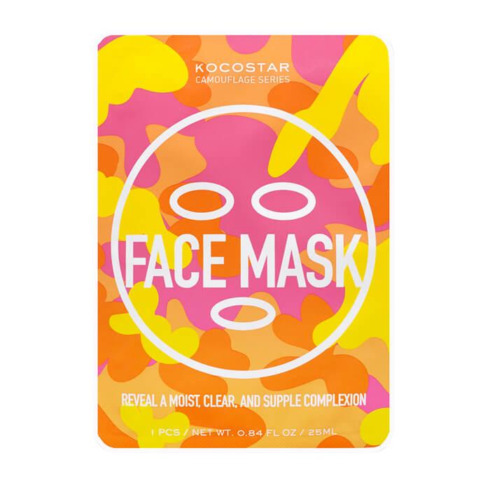 Тканевая маска Kocostar Camouflage Face Mask, Тканевая маска для лица с антиоксидантным комплексом, Южная Корея  - Купить