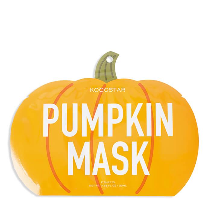Купить Тканевая маска Kocostar Slice Mask Sheet - Pumpkin, Оригинальная слайс-маска для лица с экстрактом тыквы, Южная Корея