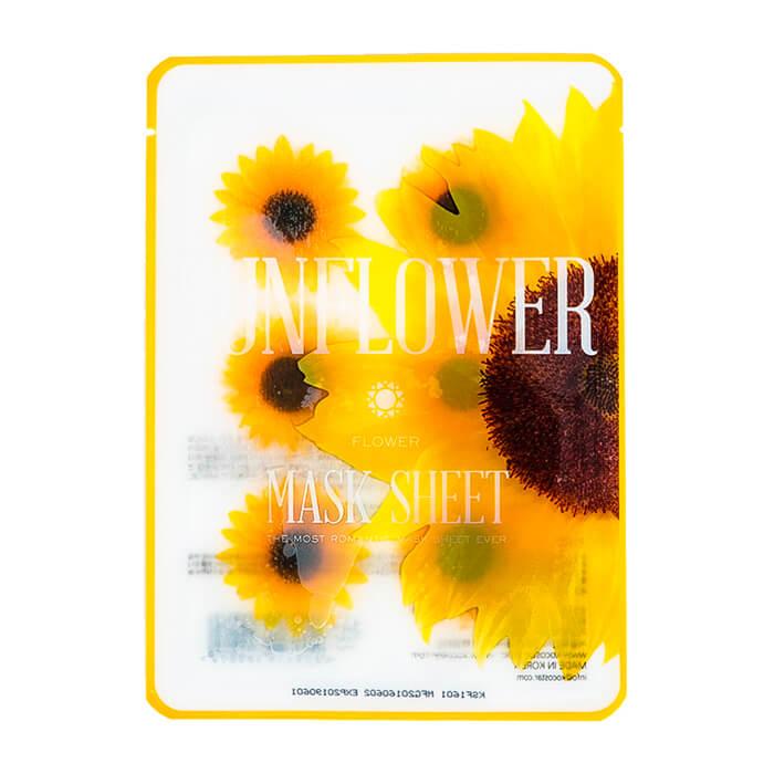 Купить Тканевая маска Kocostar Slice Mask Sheet - Sunflower, Оригинальная слайс-маска для лица с молочными протеинами, Южная Корея