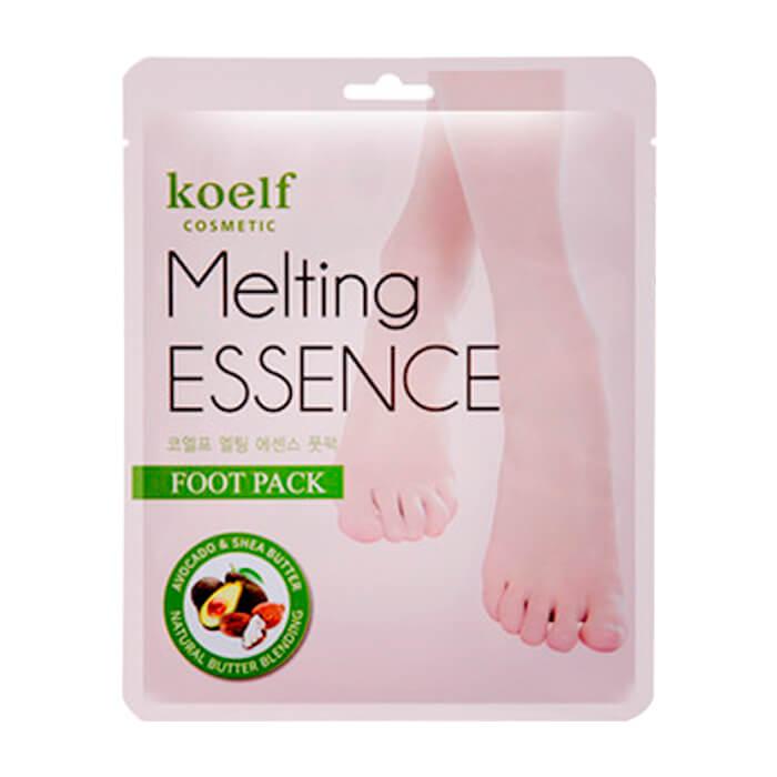 Маска для ног Koelf Melting Essence Foot Mask Смягчающая маска для ног в виде носочков фото