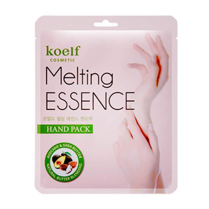 Купить Маска для рук Koelf Melting Essence Hand Mask, Смягчающая маска для рук в виде перчаток, Южная Корея