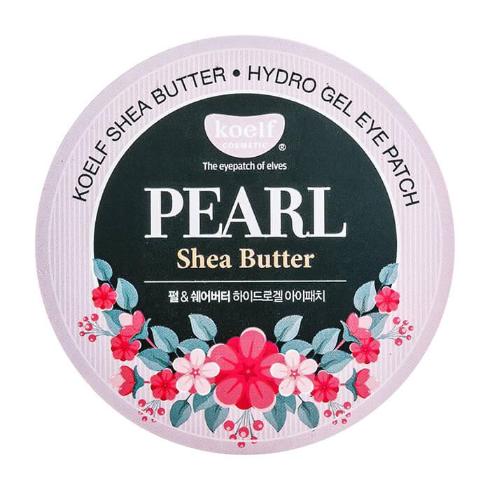 Патчи для глаз Koelf Pearl Shea Butter Hydrogel Eye Patch Гидрогелевые патчи для век с маслом ши и жемчужной пудрой фото