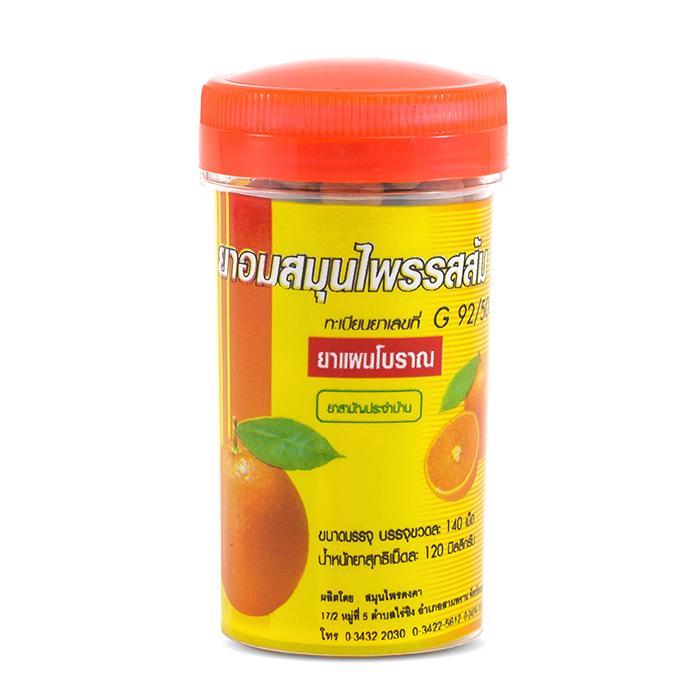 Драже от кашля Kongka Herb Orange Flavor Lozenge