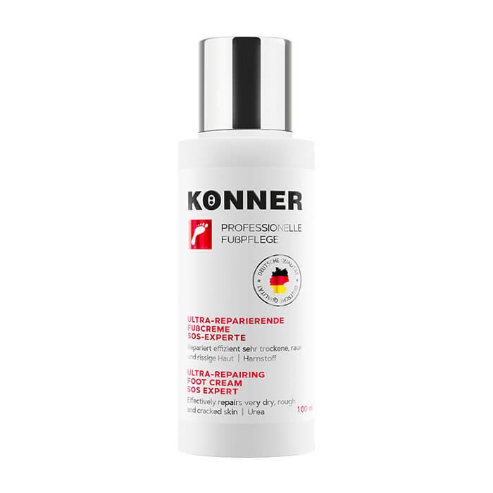 Купить Крем для ног Konner Ultra-Repairing Foot Cream SOS Expert, Ультравосстанавливающий смягчающий крем для мгновенного комфорта кожи стоп, Германия