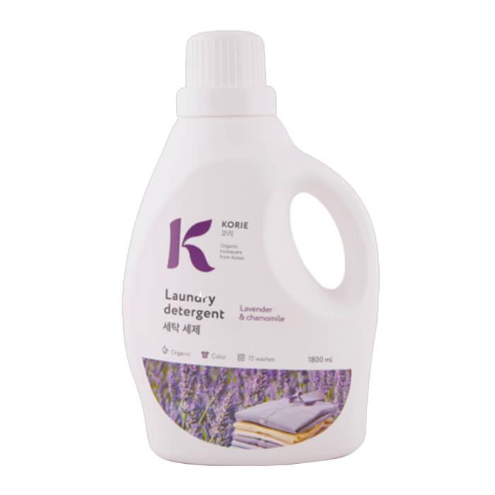 Жидкое средство для стирки Korie Laundry Detergent - Lavender  Chamomile Экологичное жидкое средство для стирки с ароматом лаванды и ромашки
