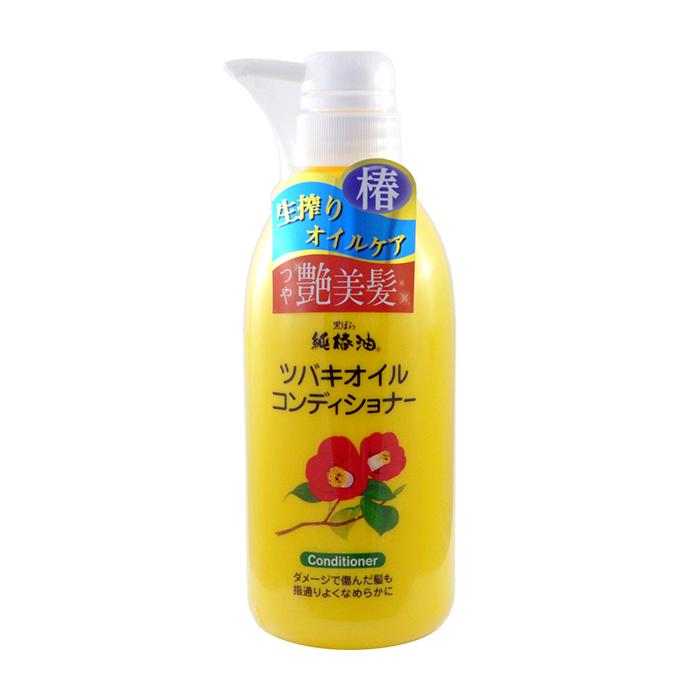 Купить Кондиционер для волос Kurobara Camellia Oil Hair Conditioner, Кондиционер для ежедневного восстановления волос с маслом камелии японской, Япония