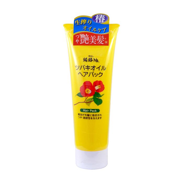 Купить Маска для волос Kurobara Camellia Oil Hair Pack, Маска восстанавливающая для повреждённых волос с маслом камелии японской, Япония