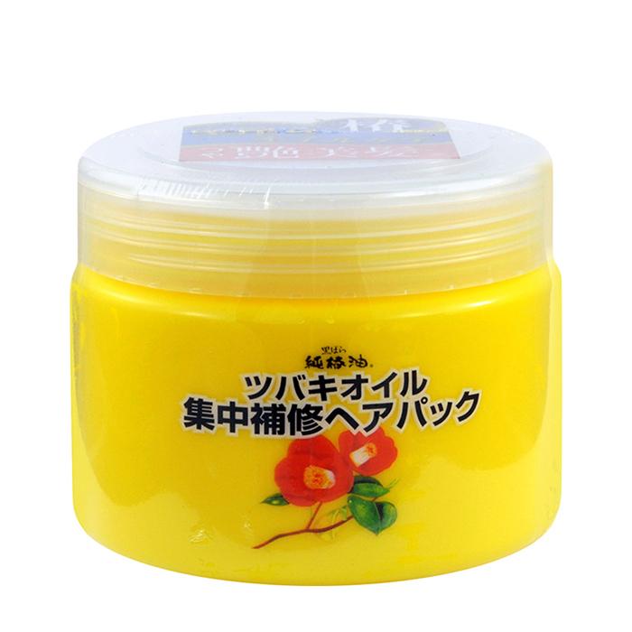 Купить Маска для волос Kurobara Camellia Oil Concentrated Hair Pack, Маска интенсивно восстанавливающая для повреждённых волос с маслом камелии японской, Япония