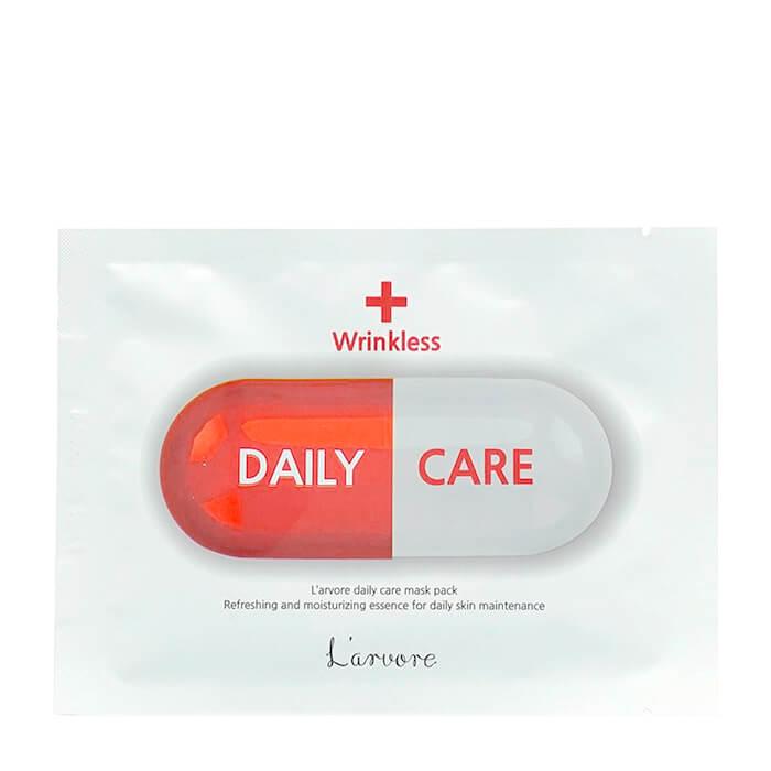 Тканевая маска L'arvore Daily Care Mask Wrinkless Антивозрастная тканевая маска для лица L'arvore
