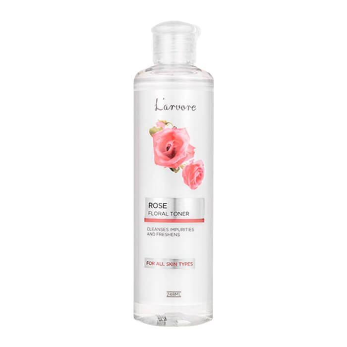Купить Тонер для лица L'arvore Rose Floral Toner, Освежающий тонер для лица с экстрактом розы, L'arvore, Южная Корея