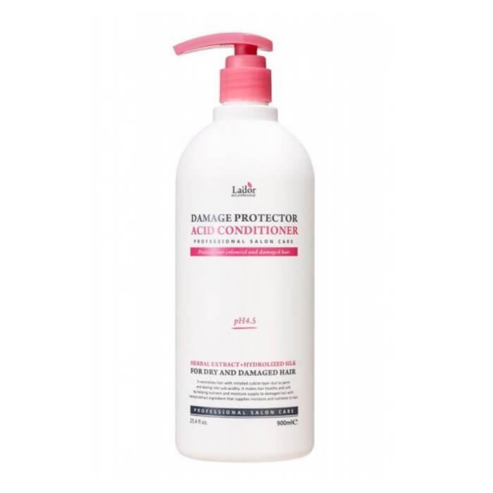 Купить Кондиционер для волос La'dor Damaged Protector Acid Conditioner, Слабощелочной кондиционер для волос с протеинами шелка, Южная Корея
