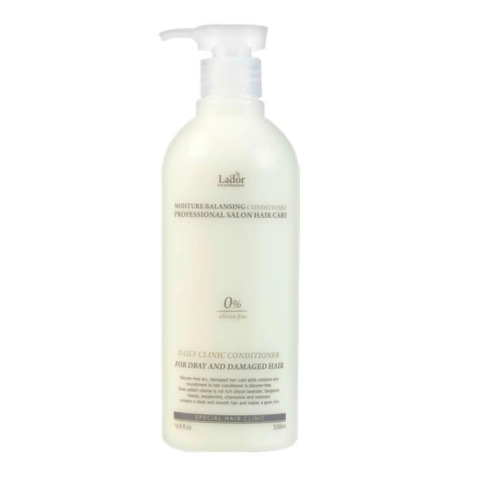 Купить Кондиционер для волос La'dor Moisture Balancing Conditioner (530 мл), Увлажняющий кондиционер для волос с растительными экстрактами, Южная Корея