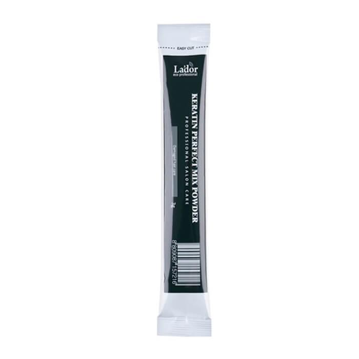 Купить Маска для волос La'dor Keratin Perfect Mix Powder, Порошковая маска для волос из мелкодисперсной пудры коллагена и кератина, Южная Корея