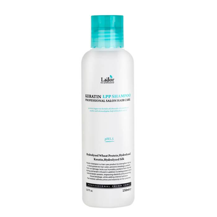 Купить Шампунь для волос La'dor Keratin LPP Shampoo (mini), Безсульфатный профессиональный шампунь для волос с кератином, Южная Корея