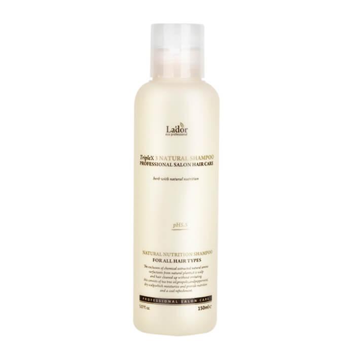 Купить со скидкой Шампунь для волос La'dor Triple x3 Natural Shampoo (mini)
