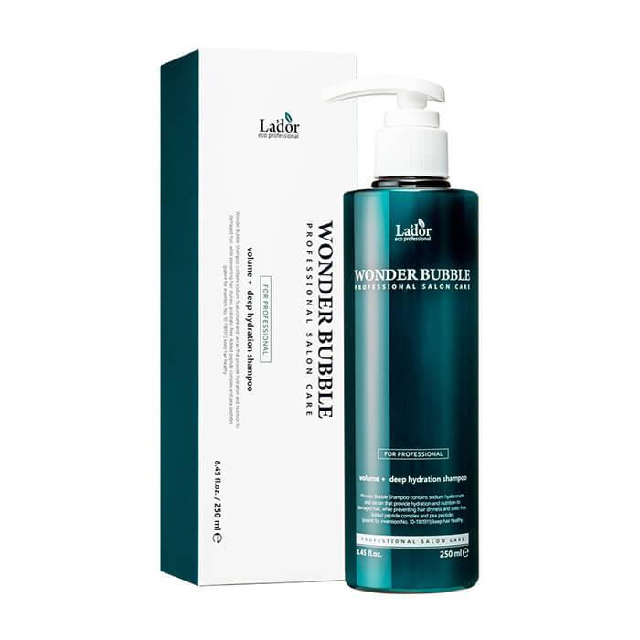 Купить Шампунь для волос La'dor Wonder Bubble Shampoo (250 мл), Шампунь для глубокого увлажнения и придания объёма волосам, La'dor, Южная Корея