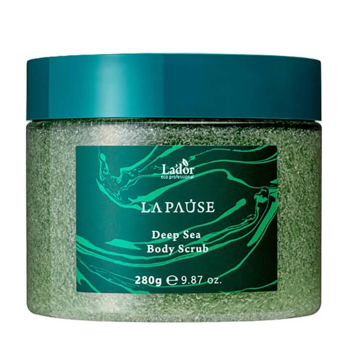 Купить Скраб для тела La'dor La-Pause Deep Sea Body Scrub, Мягкий скраб для очищения кожи тела с морской солью и вулканической пемзой, Южная Корея