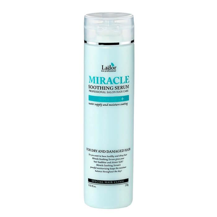 Сыворотка для волос La'dor Miracle Soothing Serum Высококонцентрированная смягчающая сыворотка для сухих и повреждённых волос фото