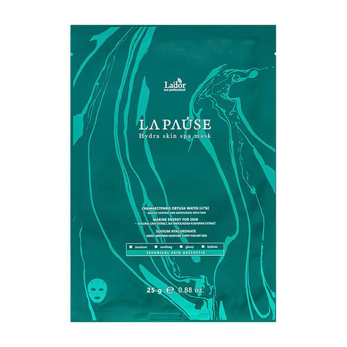 Купить Тканевая маска La'dor La-Pause Hydra Skin Spa Mask, Увлажняющая маска для лица с морским коллагеном и кипарисовой водой, La'dor, Южная Корея
