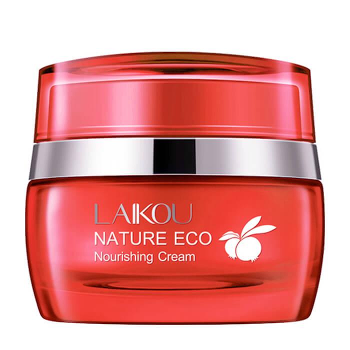 Купить Крем для лица Laikou Essence of Fruits Nature Eco Nourishing Cream, Антивозрастной увлажняющий крем для кожи лица с экстрактом граната, Китай