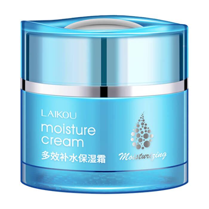 Купить Крем для лица Laikou Moisture Cream, Нежный увлажняющий крем для лица с гиалуроновой кислотой и аминокислотами, Китай